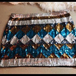 Dresses & Skirts - Sequins Mini Skirt